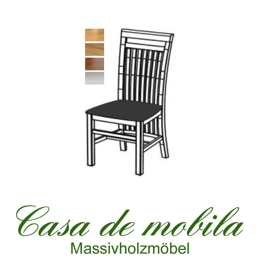 massivholz polsterstuhl kiefer massiv natur gelaugt ge lt skagen holzstuhl k chenstuhl. Black Bedroom Furniture Sets. Home Design Ideas