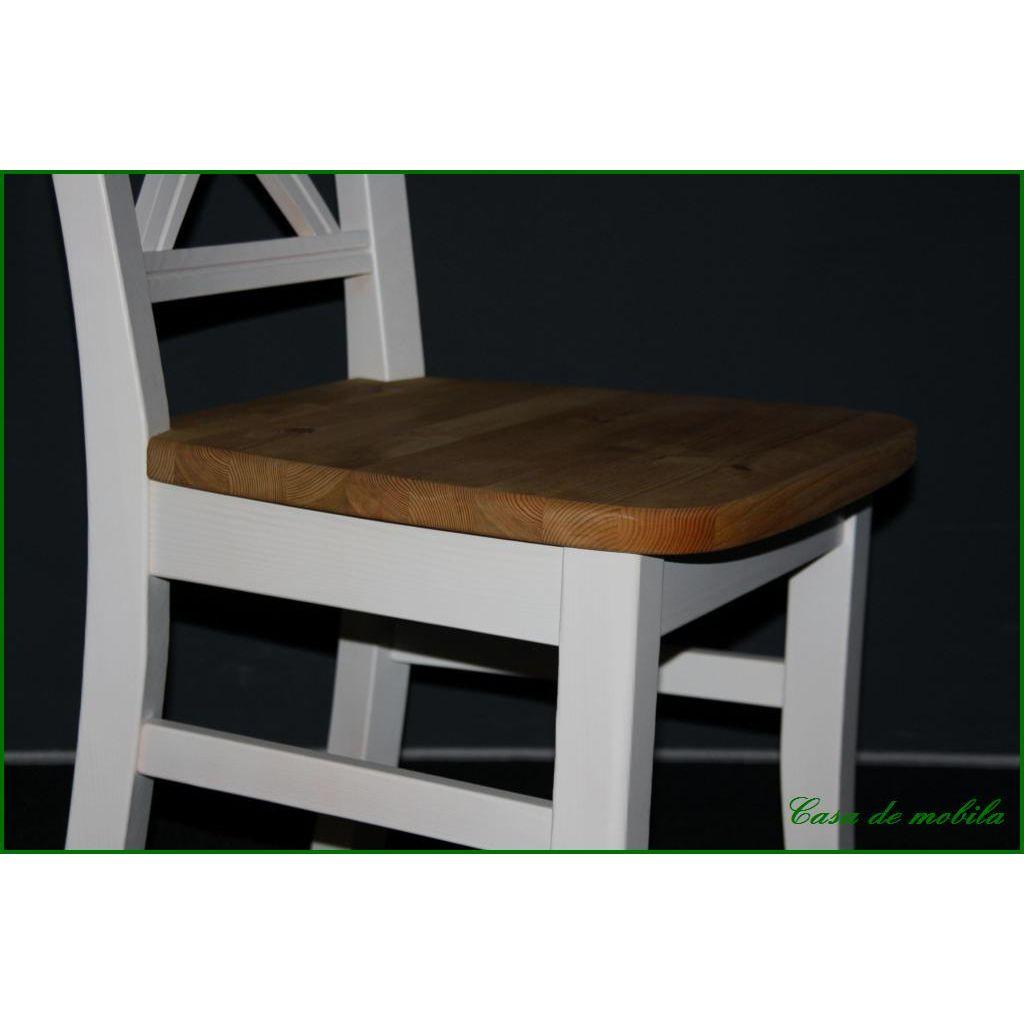 landhaus stuhl wei lackiert gebeizt ge lt fjord holz kiefer massiv. Black Bedroom Furniture Sets. Home Design Ideas
