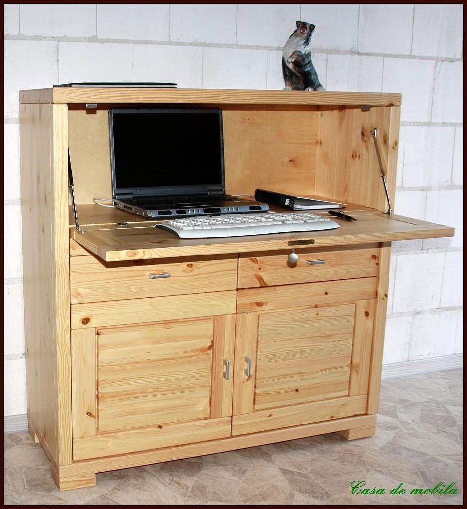 sekret r guldborg kiefer massiv natur lackiert. Black Bedroom Furniture Sets. Home Design Ideas