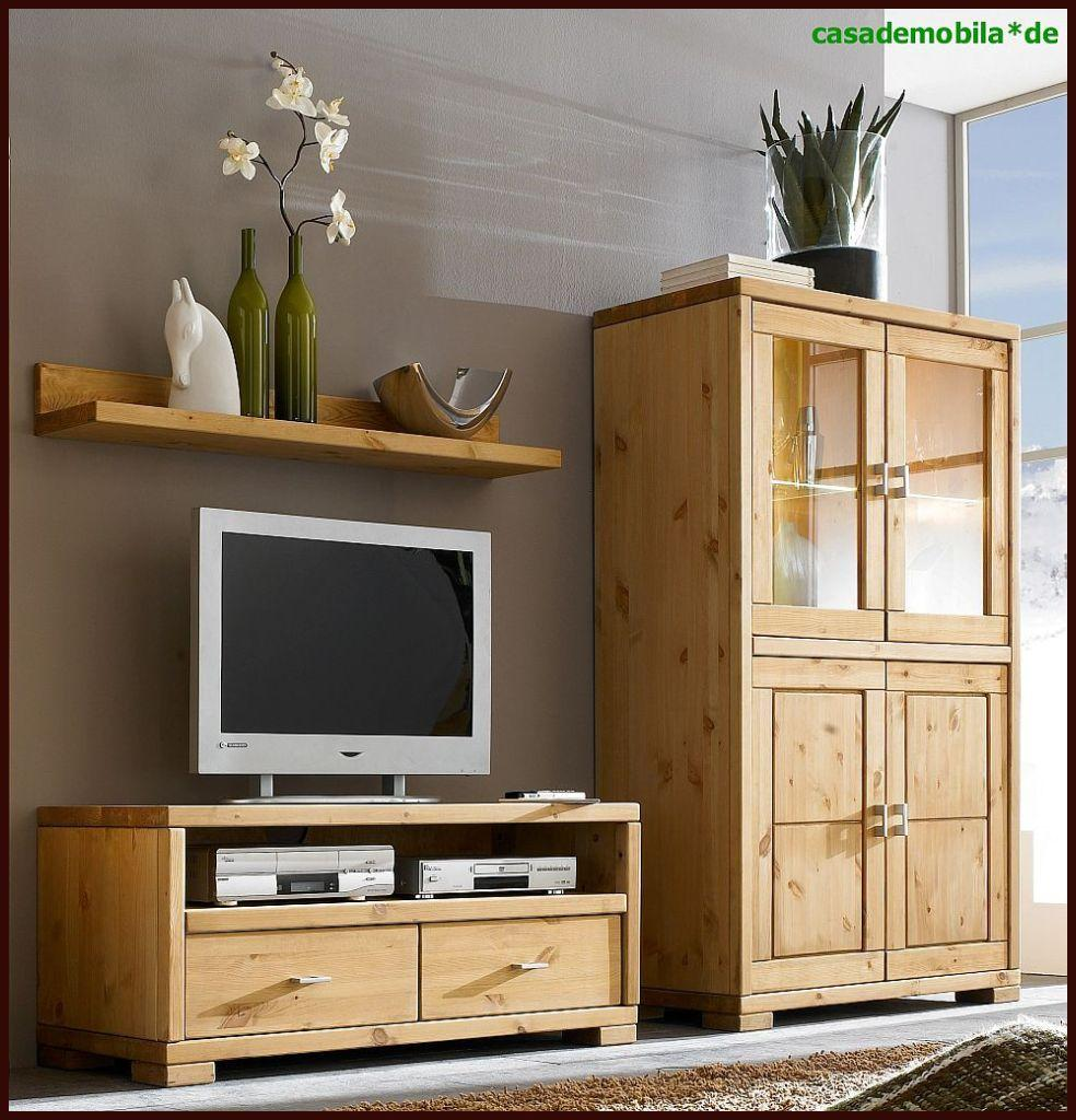 massivholz wohnwand klein vitrine lowboard regal guldborg kiefer massiv gelaugt ge lt. Black Bedroom Furniture Sets. Home Design Ideas