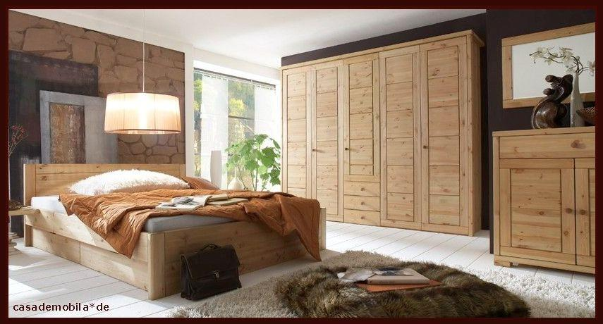 massivholz schlafzimmer rauna komplett mit bett 180x200 - kiefer