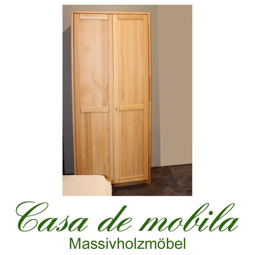 echtholz kleiderschrank schrank buche massiv ge lt bei casa de mobila. Black Bedroom Furniture Sets. Home Design Ideas