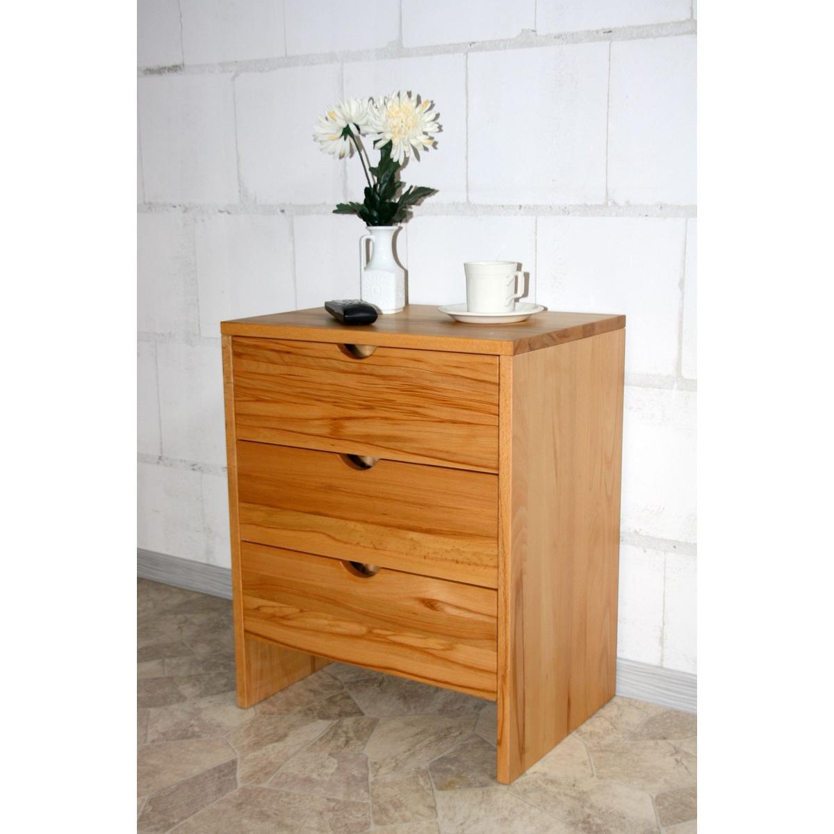 kommode schmal take it kernbuche massiv ge lt gewachst. Black Bedroom Furniture Sets. Home Design Ideas