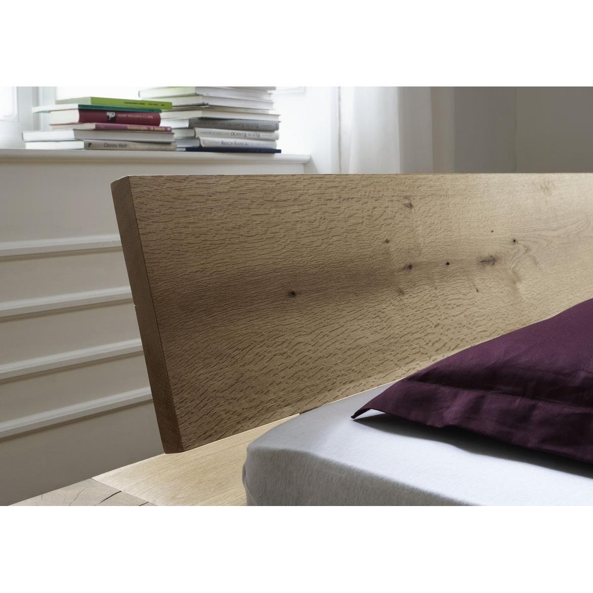 vollholz balkenbett 140x200 heavy sleep alba wildeiche. Black Bedroom Furniture Sets. Home Design Ideas