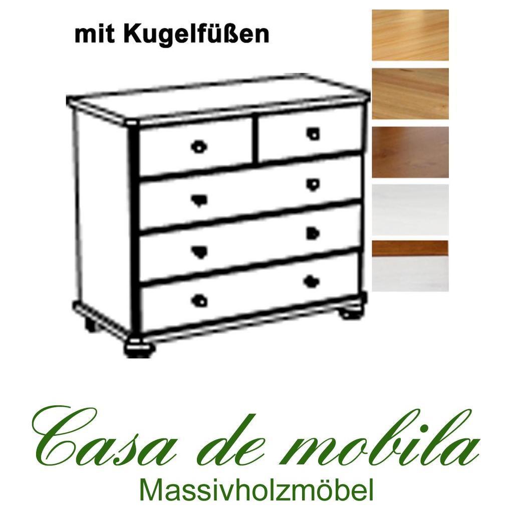 Startseite Holzarten Massivholz Kommode Kiefer massiv natur lackiert ...