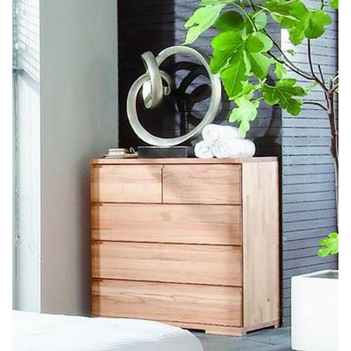 schlafzimmer kommode schubladenkommode b holz kernbuche. Black Bedroom Furniture Sets. Home Design Ideas