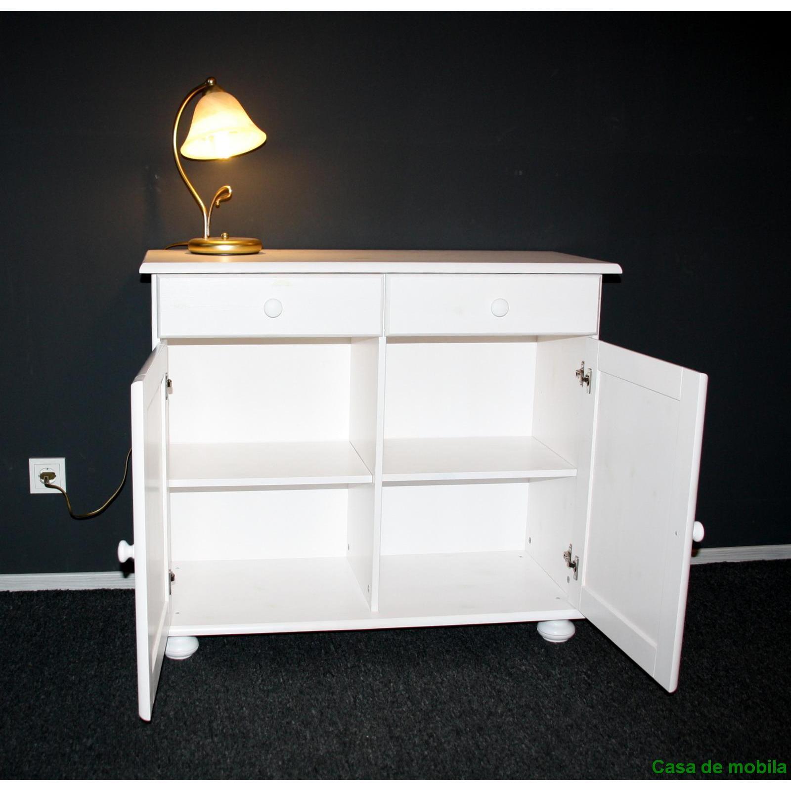 kommode weis landhaus schmal innenr ume und m bel ideen. Black Bedroom Furniture Sets. Home Design Ideas