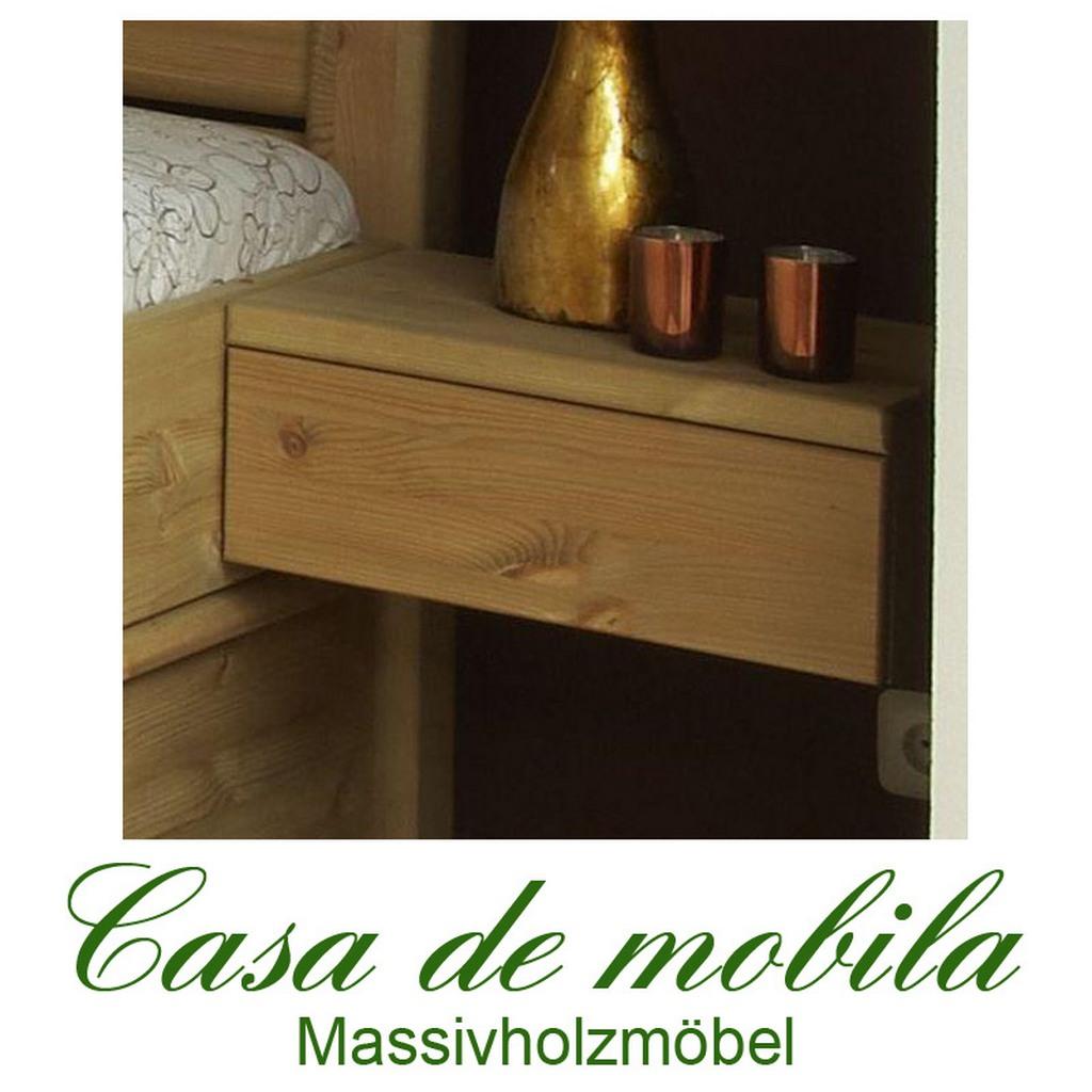 massivholz nachtkonsole nachttisch kiefer massiv natur lackiert rechts greta. Black Bedroom Furniture Sets. Home Design Ideas
