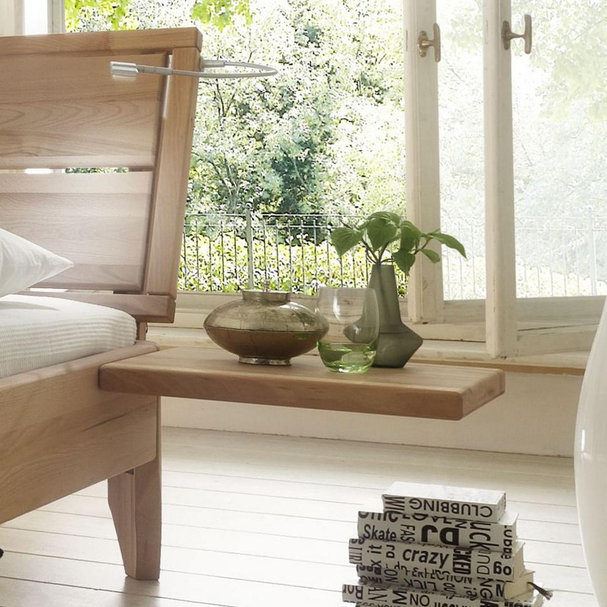 massivholz schubkastenbett 180x200 easy sleep kernbuche. Black Bedroom Furniture Sets. Home Design Ideas