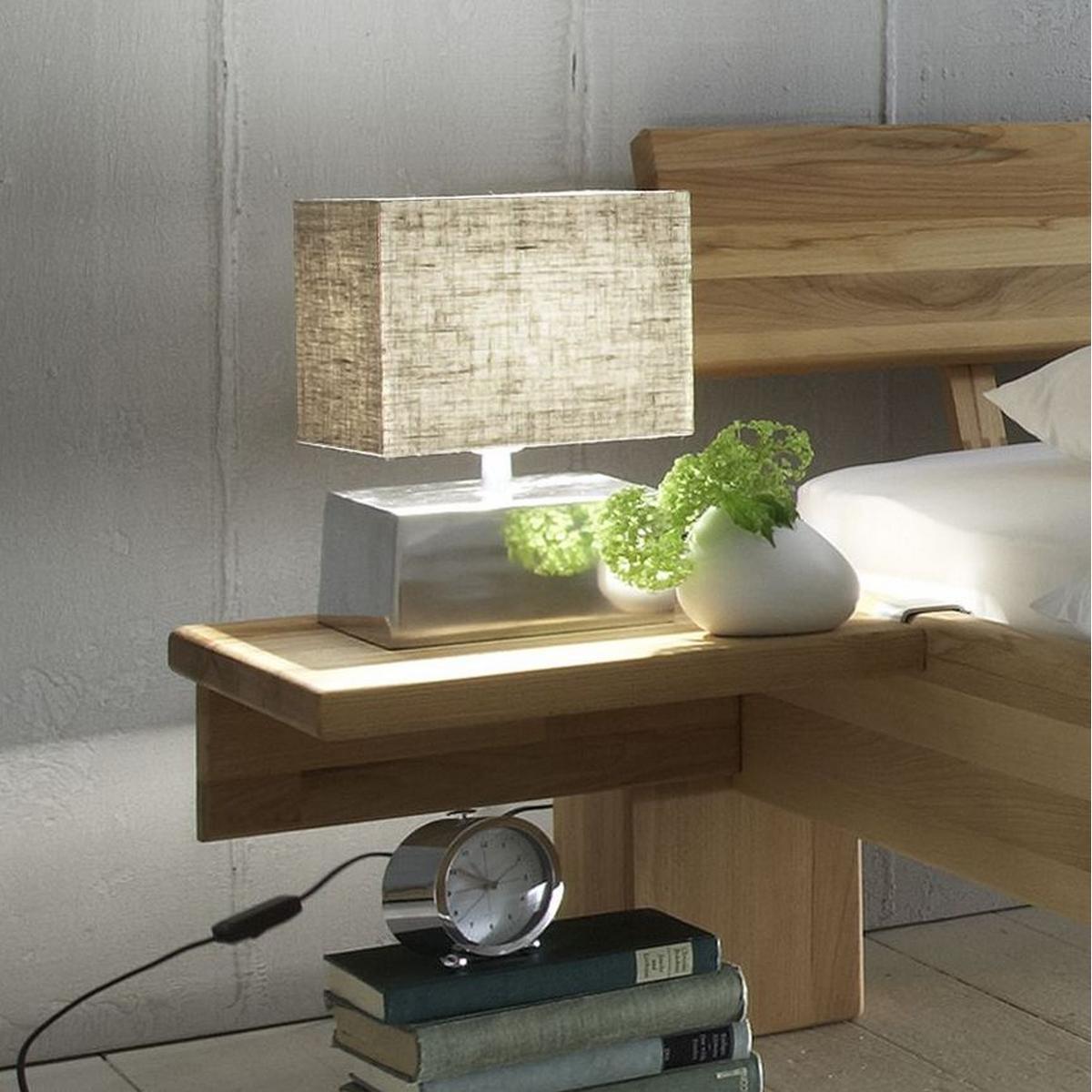 massivholz bett 100x200 xl easy sleep kernbuche massiv ge lt 9510 95 87. Black Bedroom Furniture Sets. Home Design Ideas