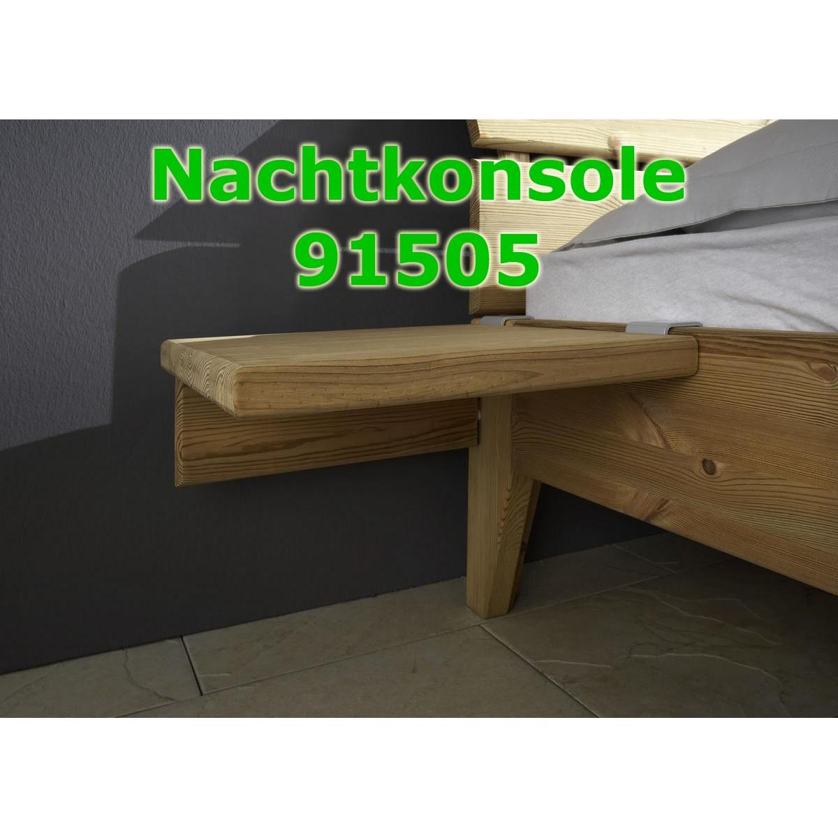 Massivholz bett 120x200 easy sleep kiefer massiv gelaugt for Bett kiefer massiv