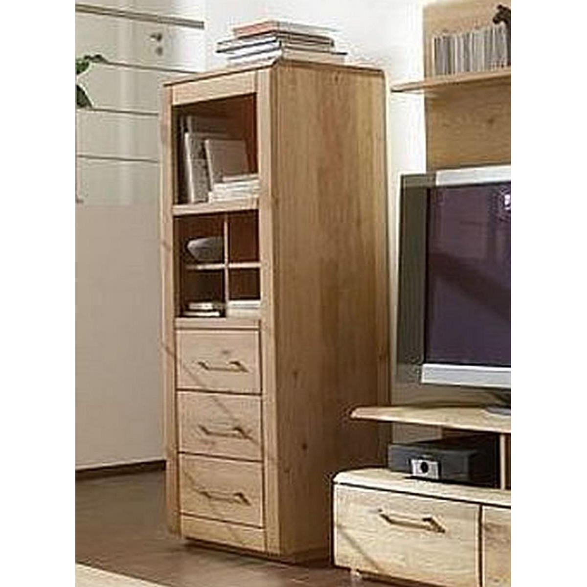 massivholz standregal mit einsatz oxford wildeiche massiv. Black Bedroom Furniture Sets. Home Design Ideas