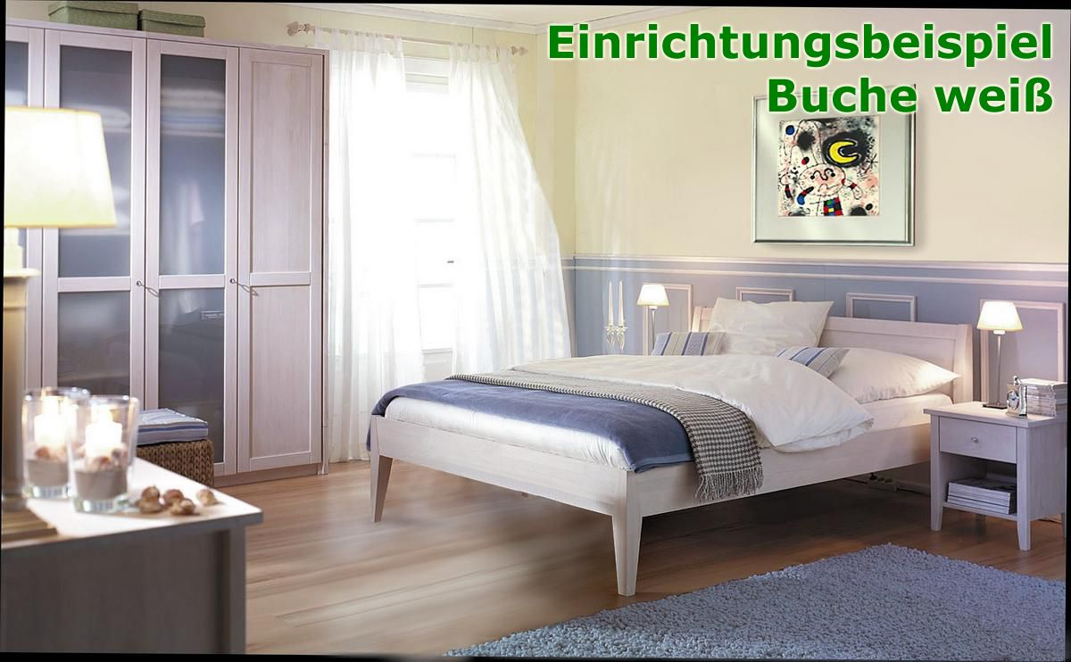 echtholz kleiderschrank schlafzimmerschrank buche massiv ge lt bei casa de mobila. Black Bedroom Furniture Sets. Home Design Ideas