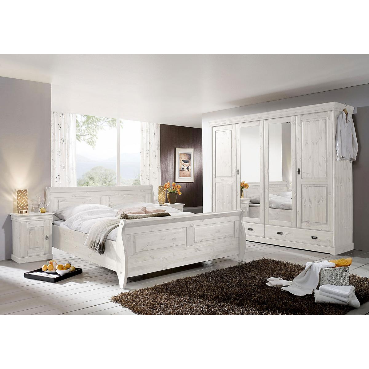schlafzimmer komplett echtholz. Black Bedroom Furniture Sets. Home Design Ideas