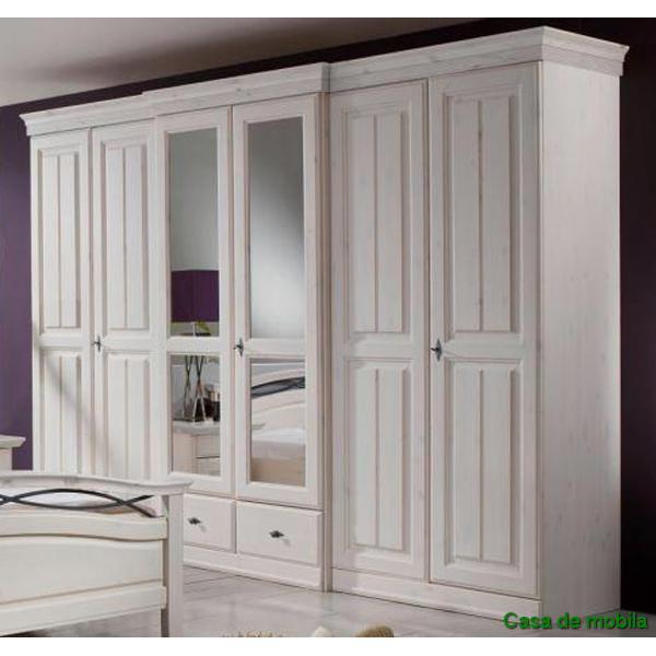 landhaus schlafzimmer komplett weiss pinie mariana interessante ideen f r die. Black Bedroom Furniture Sets. Home Design Ideas