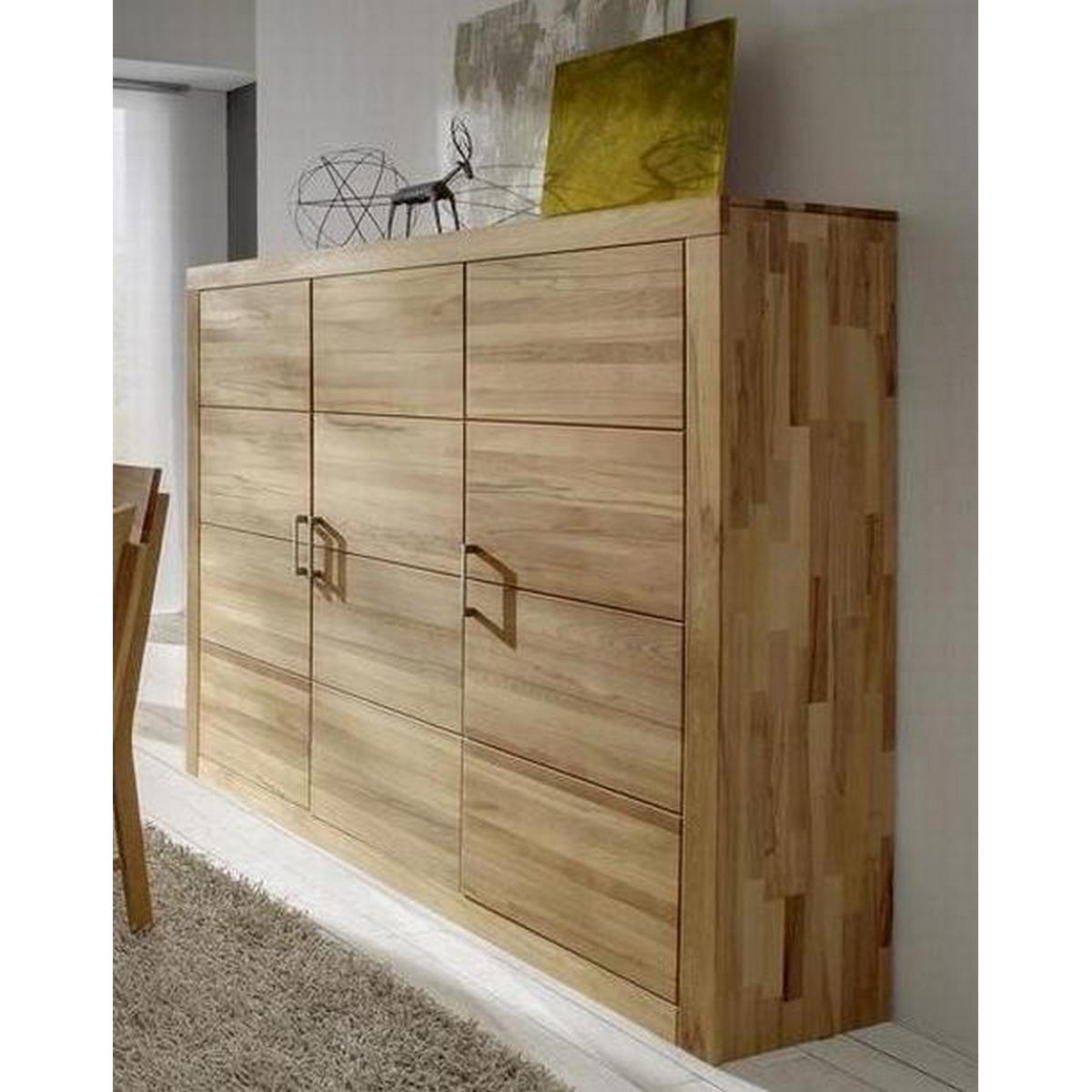 wohnzimmer highboard holz kernbuche massiv ge lt iia jale. Black Bedroom Furniture Sets. Home Design Ideas