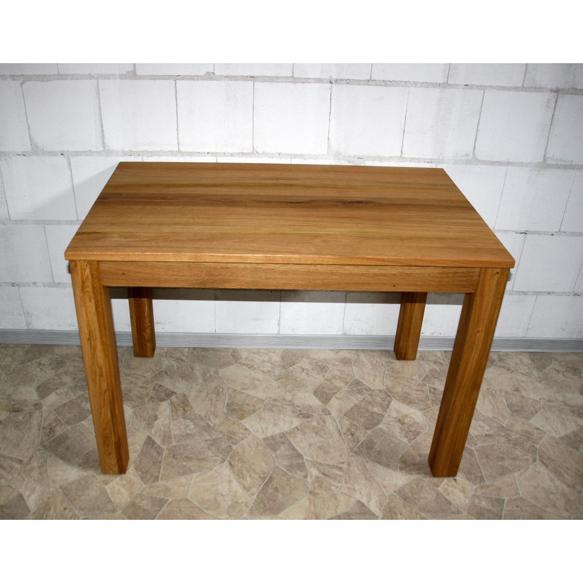 echtholz pc tisch schreibtisch 110x70 holz wildeiche massiv ge lt. Black Bedroom Furniture Sets. Home Design Ideas