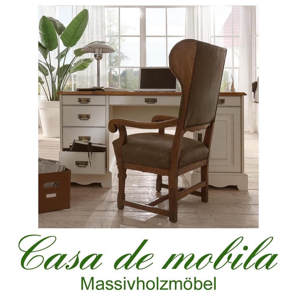 Computertisch groß  Schreibtisch Kiefer Weiß Höhenverstellbar: Kinderschreibtische ...