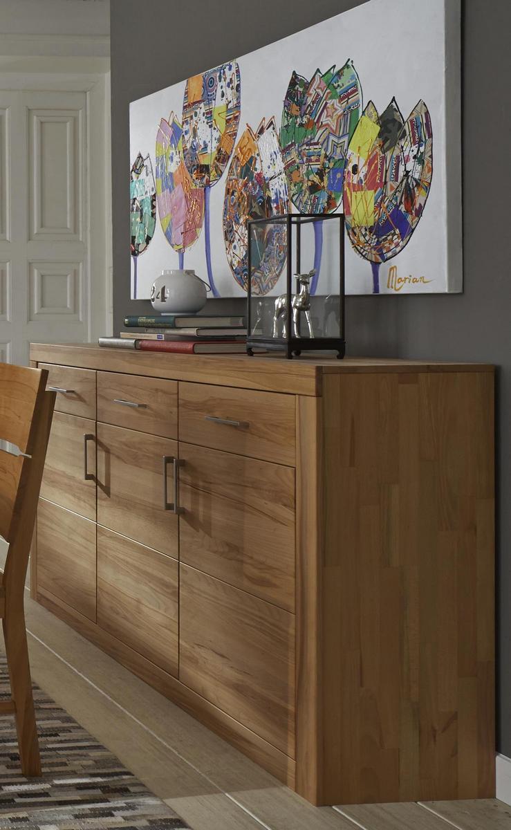 esszimmer sideboard 3 t rig holz kernbuche massiv ge lt jale. Black Bedroom Furniture Sets. Home Design Ideas