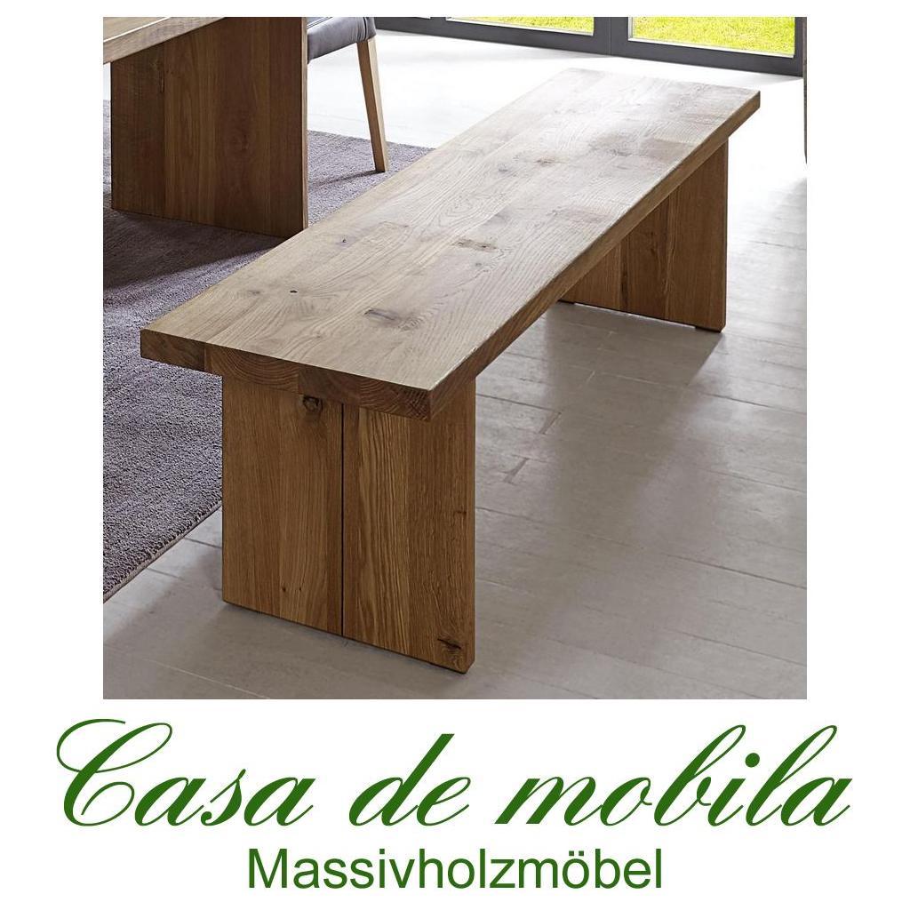 massivholz sitzbank wildeiche massiv natur ge lt binz. Black Bedroom Furniture Sets. Home Design Ideas