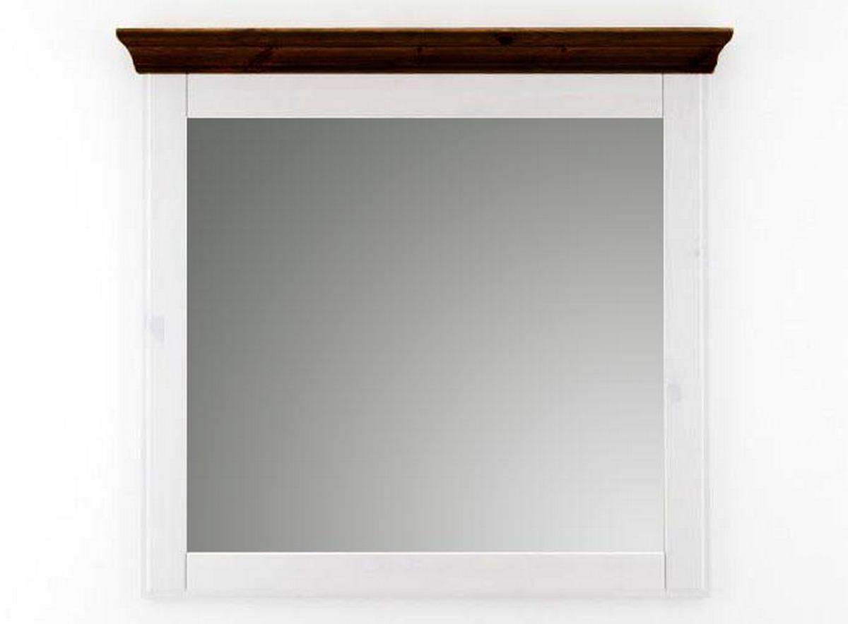 wandspiegel spiegel schlafzimmerspiegel gro e 100x100 wei. Black Bedroom Furniture Sets. Home Design Ideas