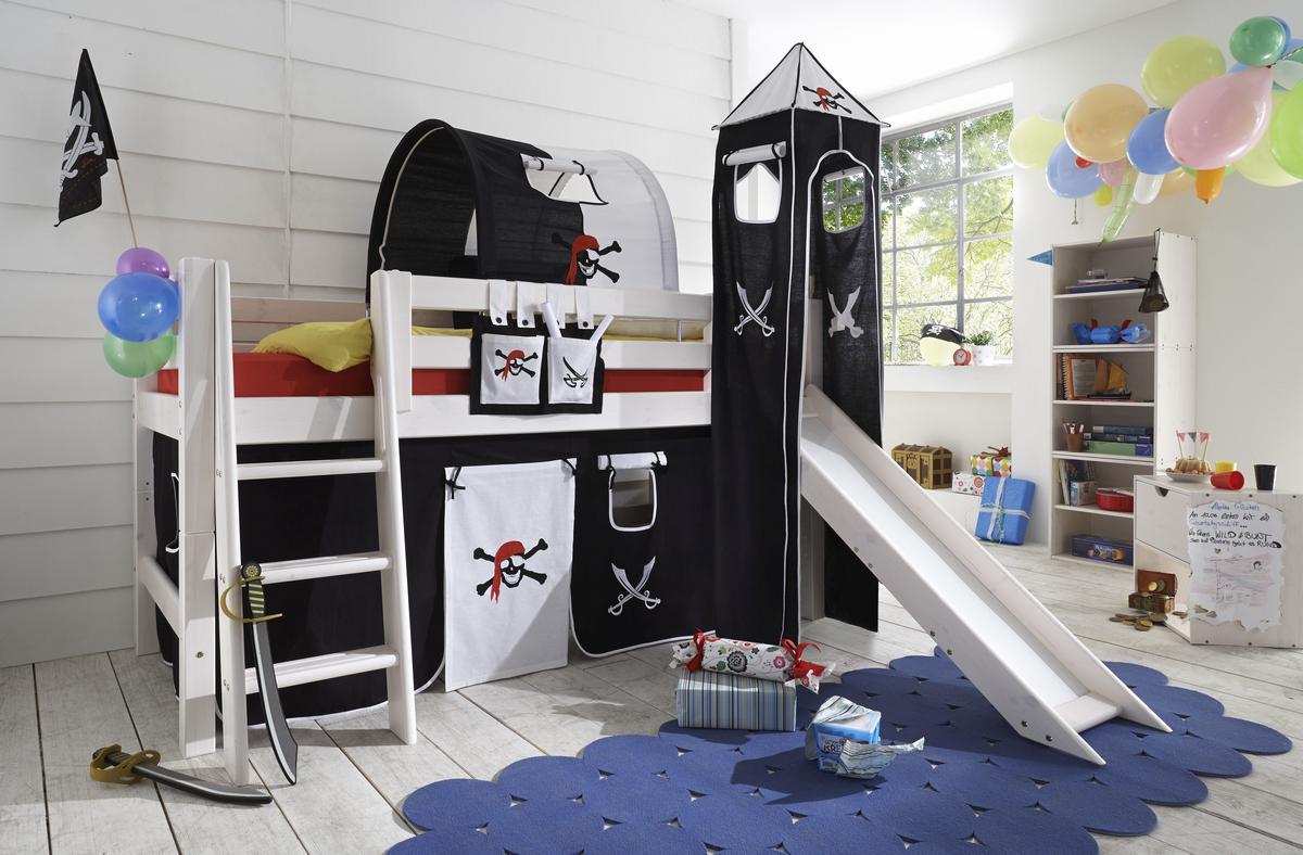 Etagenbett Pirat : Debe luxe pirat etagenbett u diverse farbkombinationen