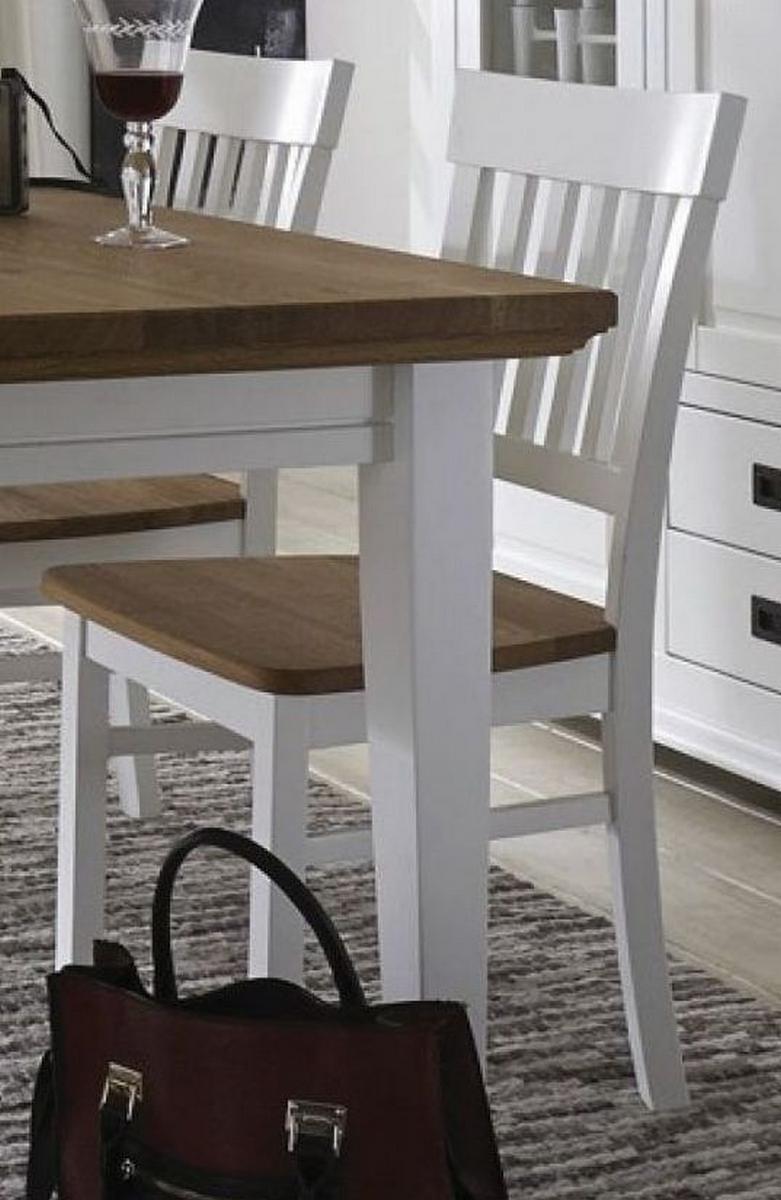 Holzstuhl Stuhl Stühle Schleiflack Weiß Holz Buche Eiche Massiv ROXANNE