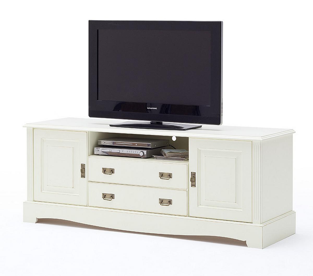 landhaus tv lowboard hoch kiefer paris vintage. Black Bedroom Furniture Sets. Home Design Ideas
