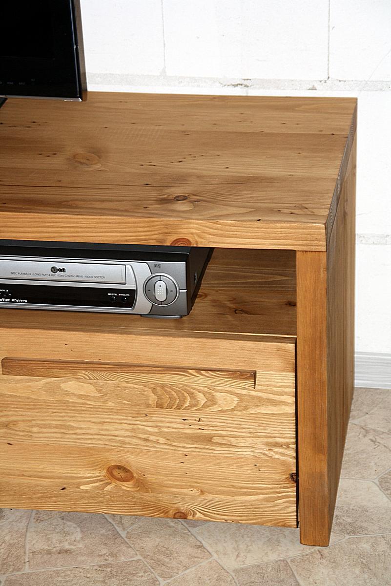 vollholz tv schrank antik gewachst rustikal tirol holz kiefer massiv. Black Bedroom Furniture Sets. Home Design Ideas