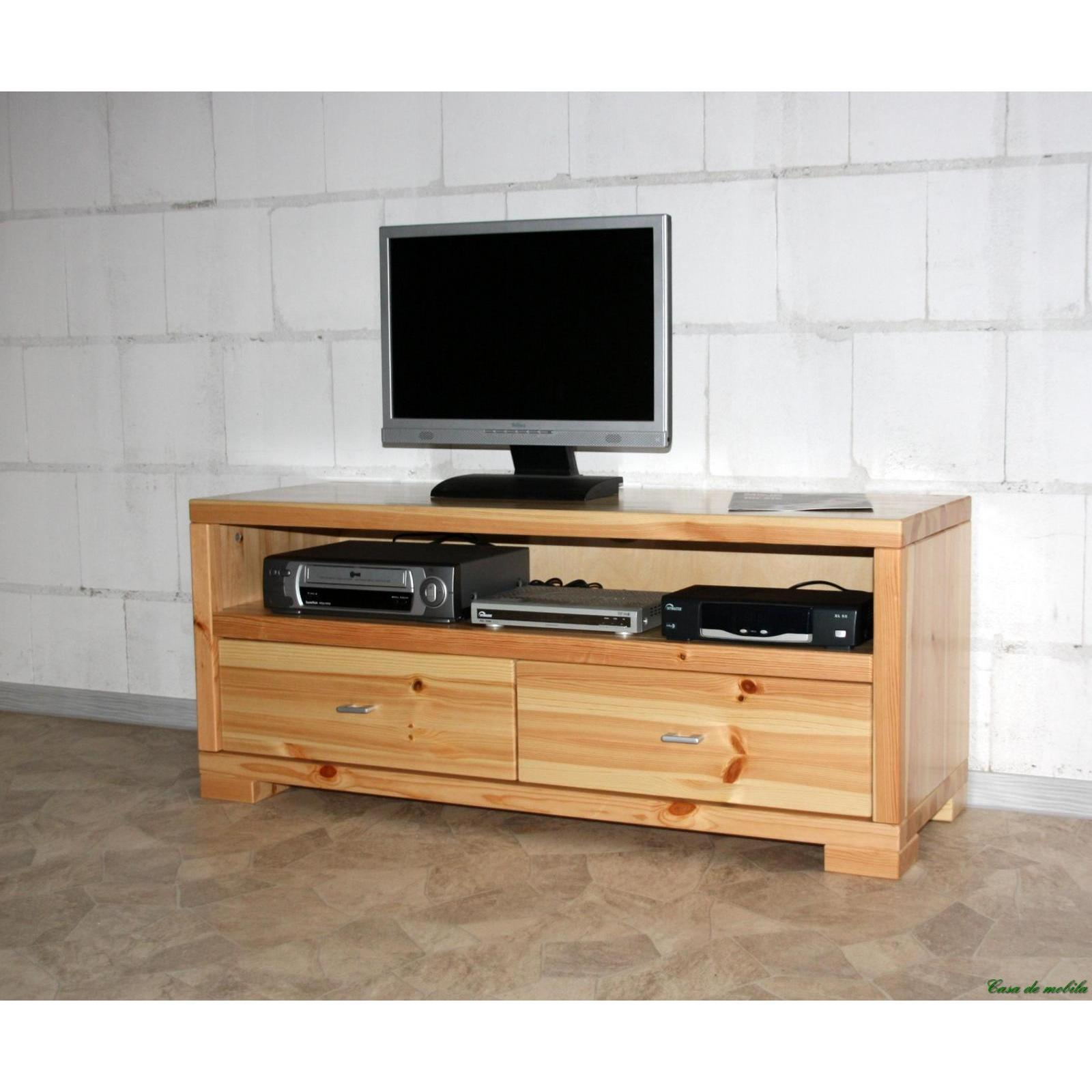 tv tisch lowboard 120 guldborg kiefer massiv natur lackiert. Black Bedroom Furniture Sets. Home Design Ideas
