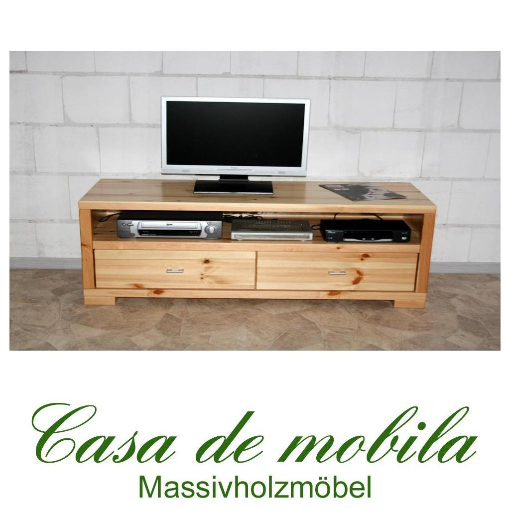 massivholz tv lowboard kiefer massiv lackiert tv kommode tv schrank guldborg 160cm - Massiv Kiefer Mbel