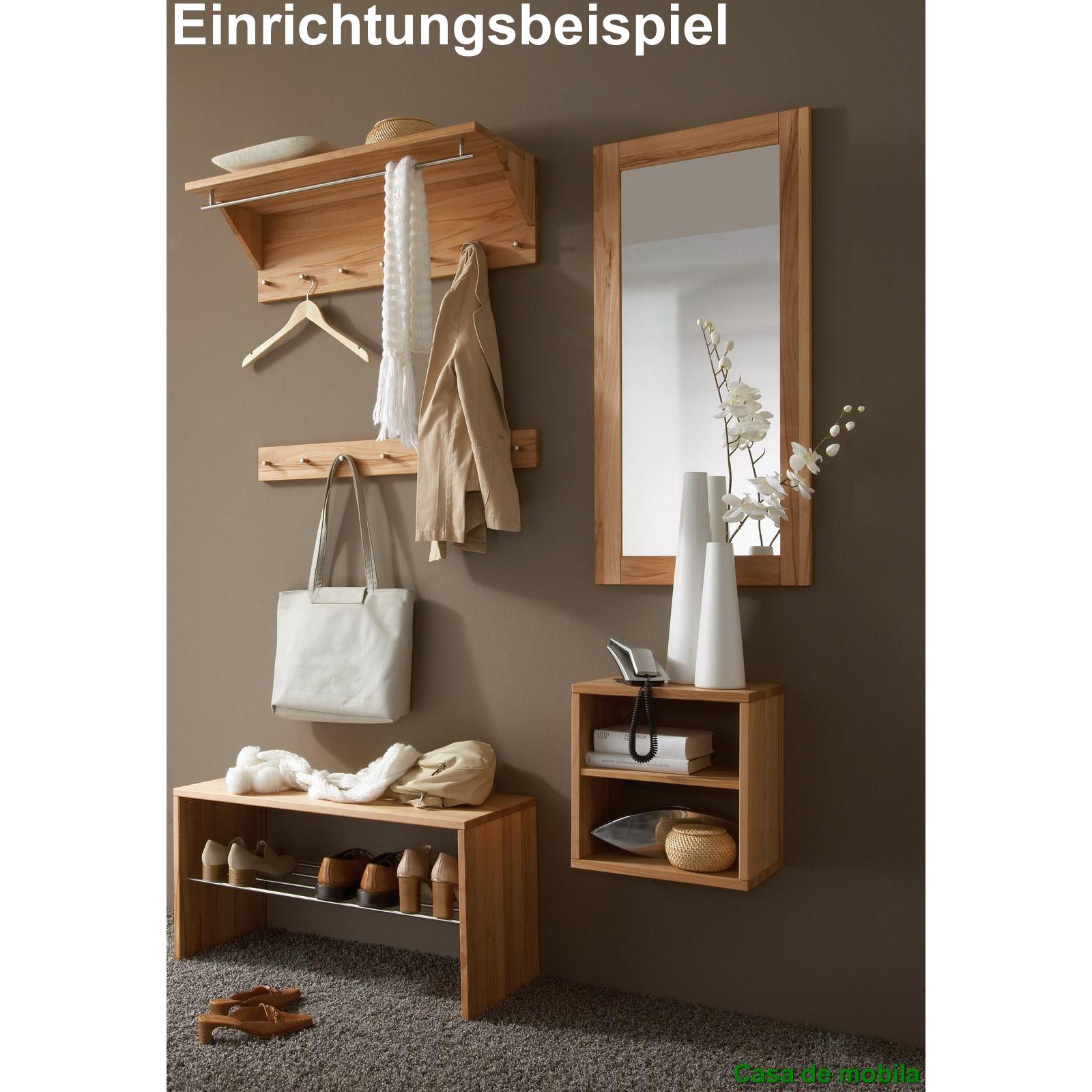 Massivholz Garderobenleiste Kernbuche TAKE IT! - natur geölt/gewachst