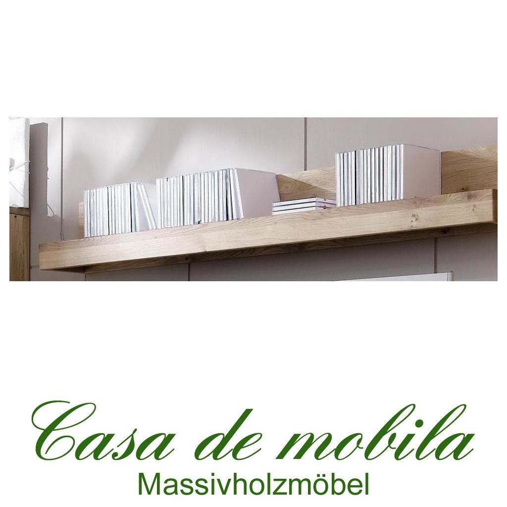massivholz wandboard wandregal klein messina wildeiche. Black Bedroom Furniture Sets. Home Design Ideas
