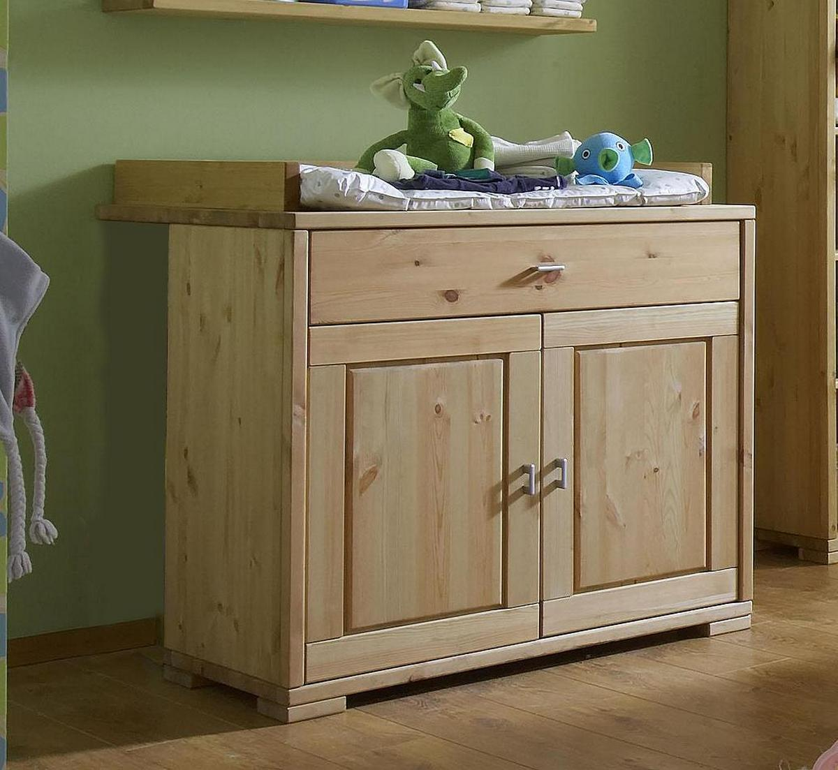 vollholz wickeltisch holz kiefer massiv gelaugt ge lt bei. Black Bedroom Furniture Sets. Home Design Ideas