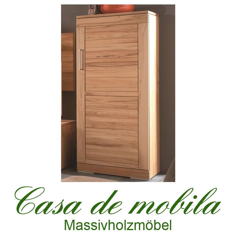 Wohnzimmer Schrank Holz Kernbuche Massiv Natur Geölt Casera