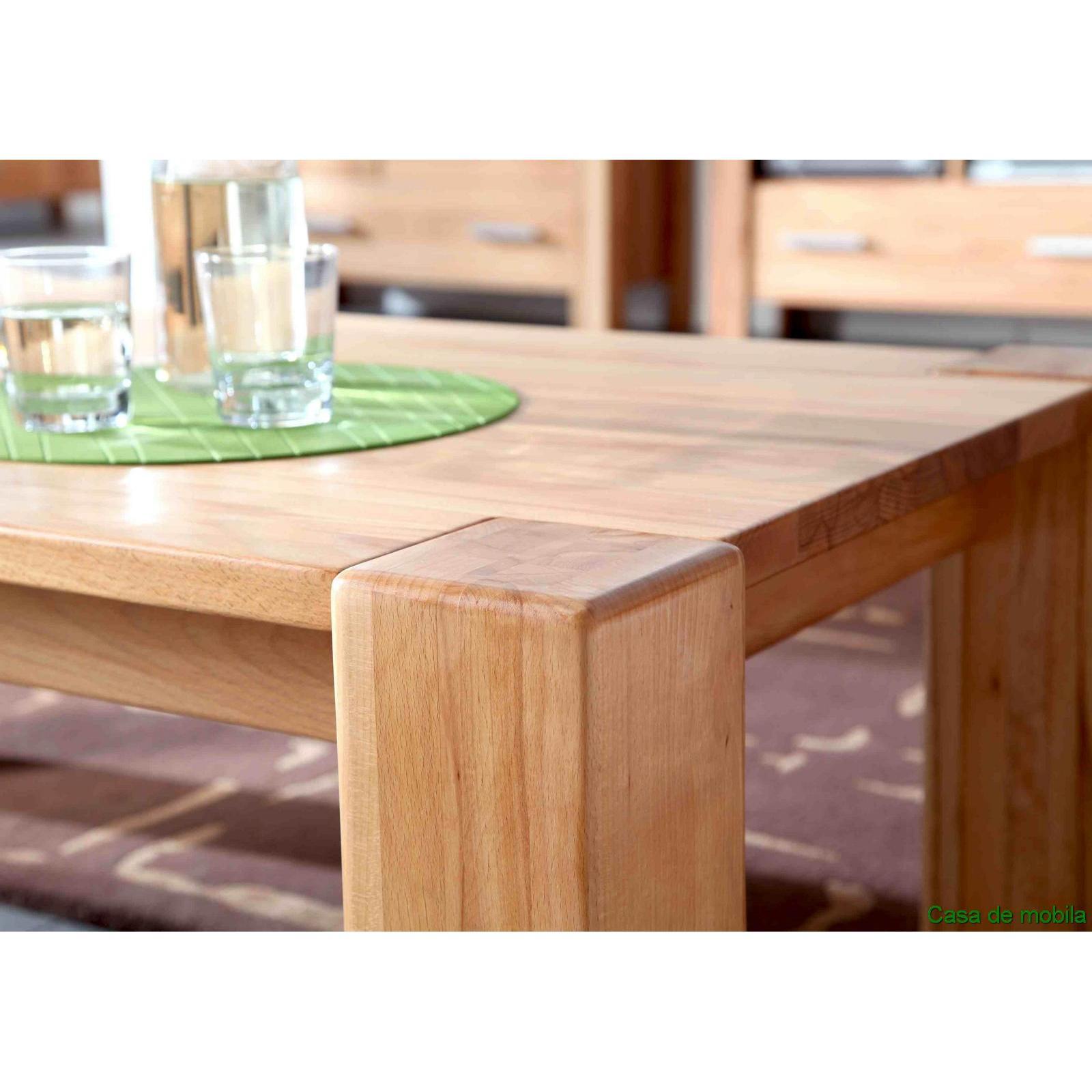 echtholz couchtisch wohnzimmertisch 85x85 cm kernbuche massiv natur ge lt gulliver. Black Bedroom Furniture Sets. Home Design Ideas