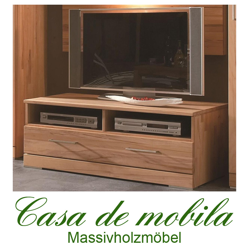 massivholz tv lowboard kernbuche massiv natur ge lt casera tv board ii. Black Bedroom Furniture Sets. Home Design Ideas