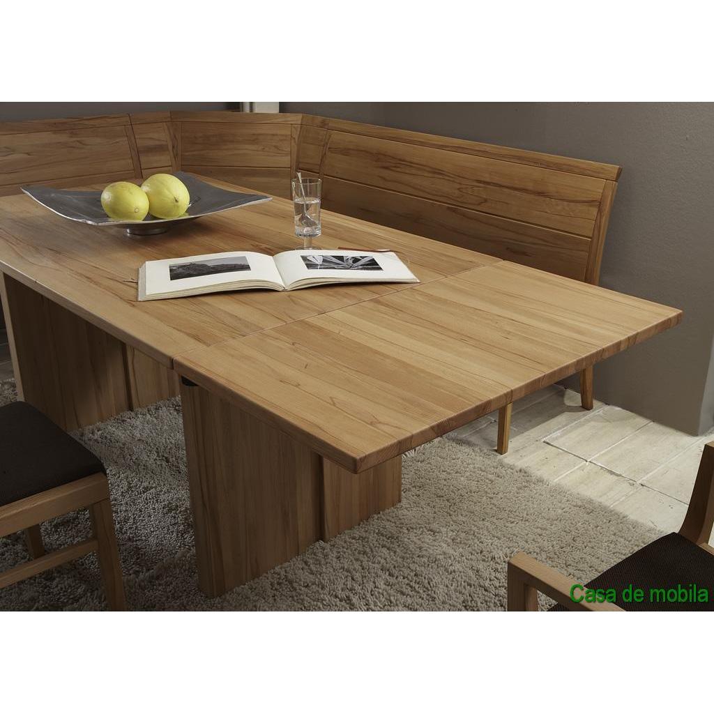 echtholz wangentisch esstisch 190x95 cm rotkernbuche massiv natur ge lt casera. Black Bedroom Furniture Sets. Home Design Ideas