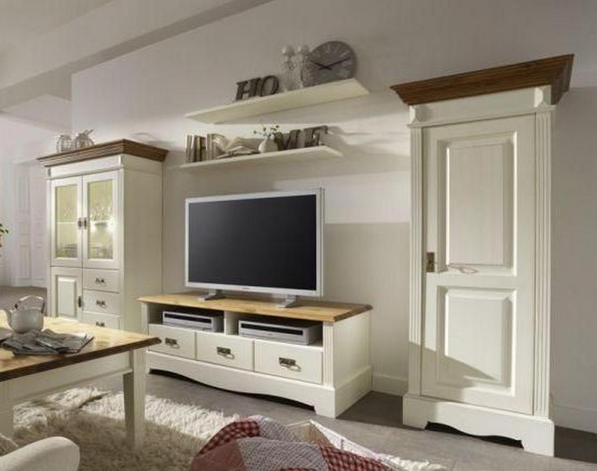 Wohnzimmer Schrankwand Landhausstil Midir