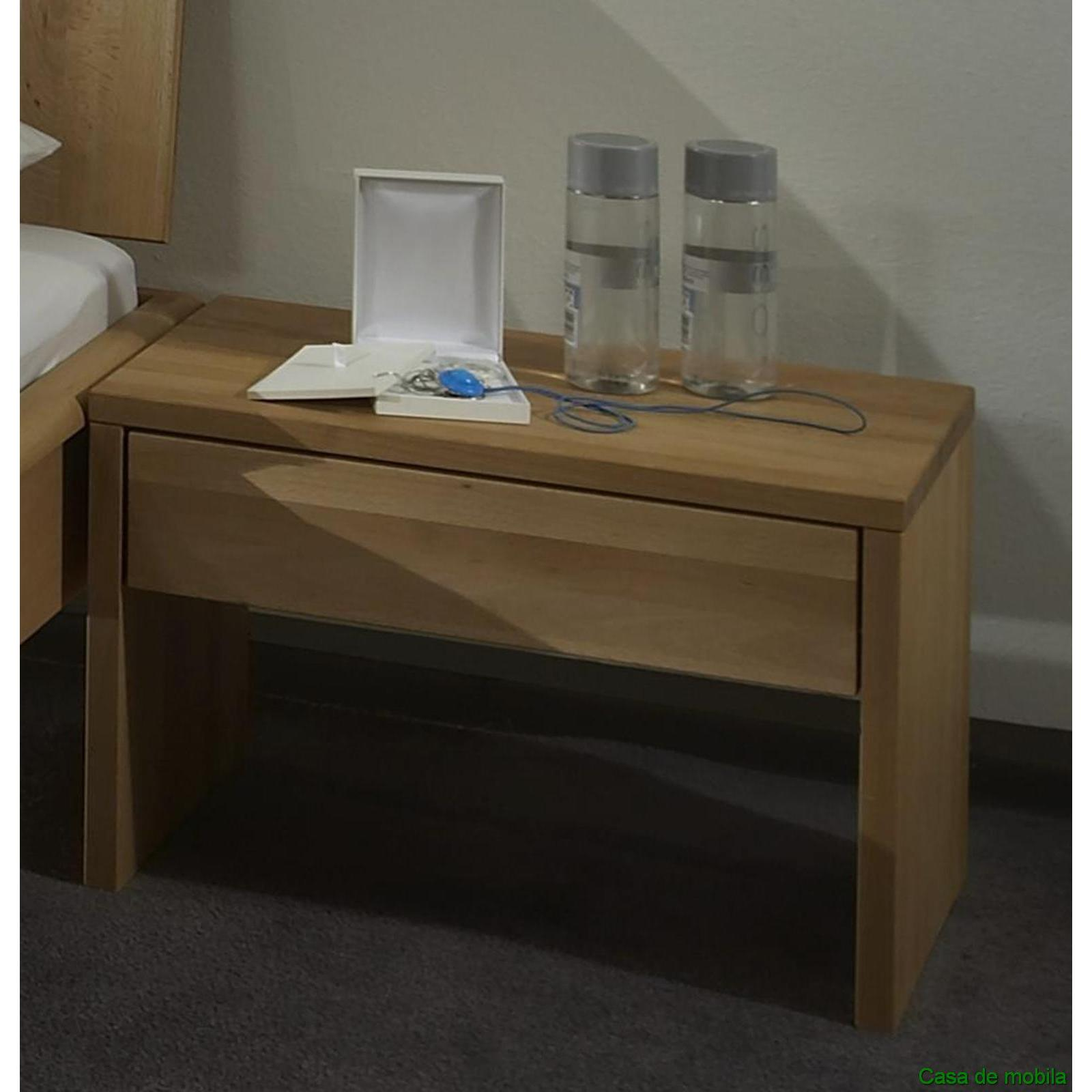vollholz nachtkommode nachttisch buche massiv hercules i nachtschrank. Black Bedroom Furniture Sets. Home Design Ideas