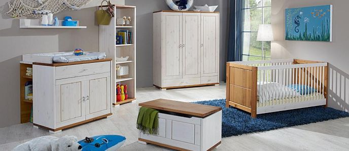 komplettl sungen f r baby kinderzimmer. Black Bedroom Furniture Sets. Home Design Ideas