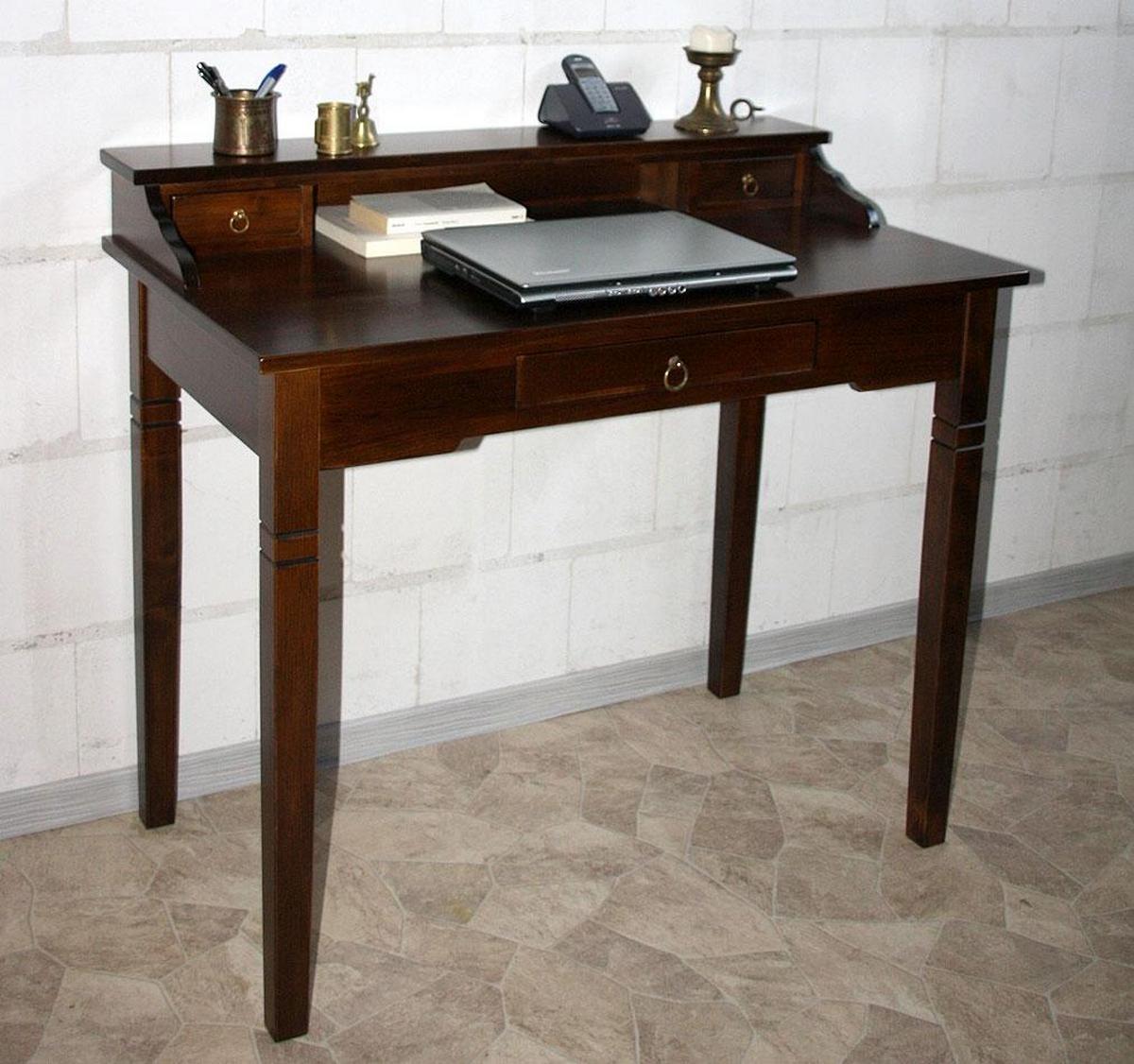 damensekret r sekret r massiv holz braun nu baum kolonial. Black Bedroom Furniture Sets. Home Design Ideas