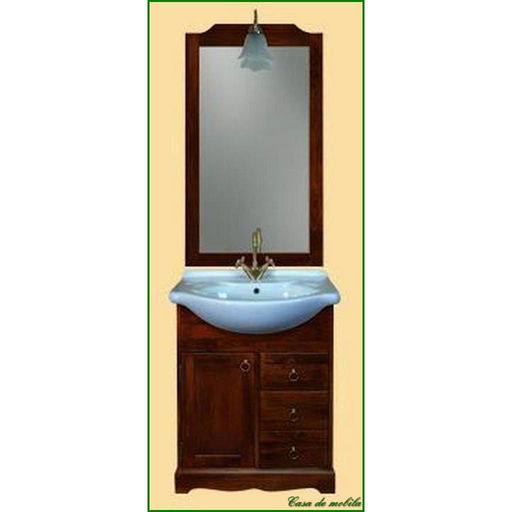 Badezimmermöbel braun  Italienische Badmöbel Badezimmermöbel braun nussbaum holz massiv ...