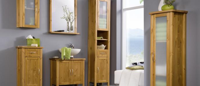 Massivholz Badezimmer-Sets