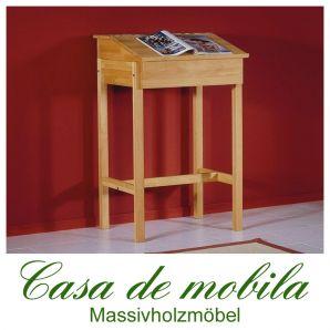 Massivholz Stehpult Schreibpult Notenpult Buche massiv geölt DIETER