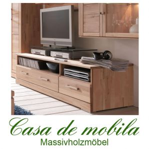 massivholz tv lowboard buche massiv natur ge lt casera tv board kernbuche rotkernbuche. Black Bedroom Furniture Sets. Home Design Ideas