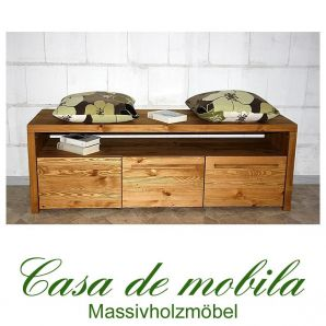vollholz garderobenbank antik rustikal bank tirol holz kiefer massiv. Black Bedroom Furniture Sets. Home Design Ideas