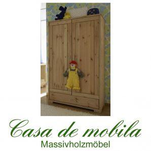 Massivholz Kinderzimmerschrank kiefer massiv gelaugt geölt naturholz kinderschrank GULDBORG