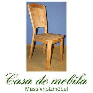 2er-Set Stuhl Kiefer massiv gelaugt Stühle Kiefernstühle GULDBORG geölt