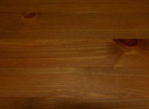 Vollholz Sitzbank 140 cm Bank mit Lehne Guldborg - Holz Kiefer massiv provance lackiert